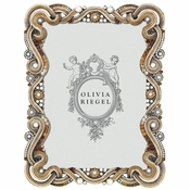 "Olivia Riegel Baronessa 5"" X 7"" Frame With Silk Back"