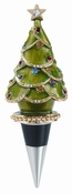 Olivia Riegel Christmas Tree Bottle Stopper
