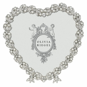 "Olivia Riegel Contessa Heart 3.5"" Frame - Shipping August"