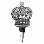 Olivia Riegel Crown Bottle Stopper with Skulls