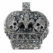 Olivia Riegel Crown Box with Skulls - CLOSEOUT