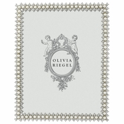 "Olivia Riegel Crystal & Pearl 8"" x 10"" Frame - 25% OFF SALE"