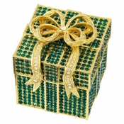 Olivia Riegel Emerald Pave Gift Box - CLOSEOUT