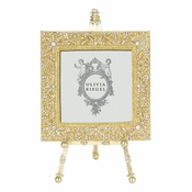 "Olivia Riegel Gold Windsor 4"" x 4"" Frame on Easel"