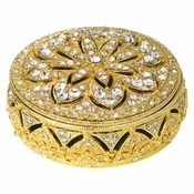 Olivia Riegel Gold Windsor  Round Box