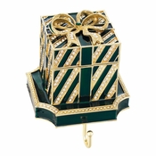 Olivia Riegel Green Gift Box Stocking Holder