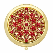 "SOLD OUT Olivia Riegel July ""Ruby"" Compact - CLOSEOUT"
