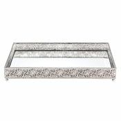 Olivia Riegel Large Windsor Beveled Mirror Tray
