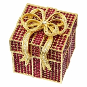 Olivia Riegel Ruby Pave Gift Box - CLOSEOUT