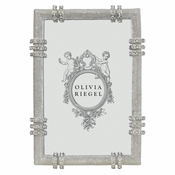 SOLD OUT Olivia Riegel Silver Cassini 4 x 6 Frame