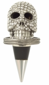 Olivia Riegel Skull Bottle Stopper