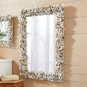Oyster Bay Rectangle Mirror (Shipping Late August)