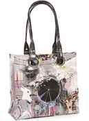 Papaya Dreamcatcher Luxe Tote