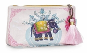 Papaya Lil Elephant Small Tassel Pouch