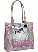 SOLD OUT Papaya Moon & Back Luxe Tote