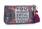 Papaya You Wonderful Small Tassel Pouch