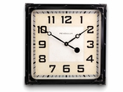 Pendulux Gas Station Clock Black