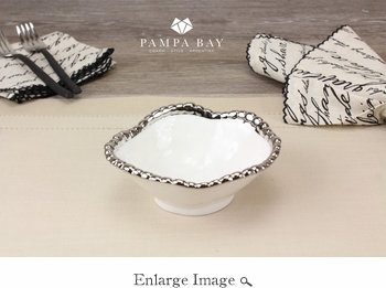 Porcelain Salerno Snack Bowl