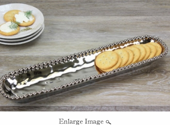 Porcelain Verona Cracker Tray