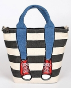 Red Sneakers & Jeans Bag - CLOSEOUT