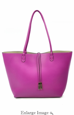 SOLD OUT Remi & Reid Departure Tote Magenta/Taupe