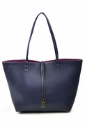 SOLD OUT Remi & Reid Departure Tote Navy/Magenta