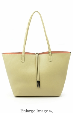 SOLD OUT Remi & Reid Departure Tote Sand-Salmon
