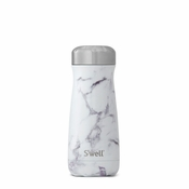 S'well White Marble Traveler 16 oz
