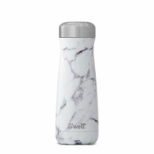 S'well White Marble Traveler 20 oz