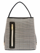 Samoe Style Black and White Woven Black Handle Classic