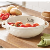 Mud Pie Savor Vegetable Dish - CLOSEOUT