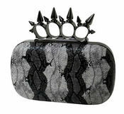 Collective Designs - Spike Knuckle Clutch  - CLOSEOUT