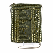 SOLD OUT Mary Frances High Tech, Green Mini Bag - CLOSEOUT