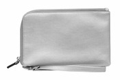 Spark Silver Wristlet Bag and Phone Charger - CLOSEOUT