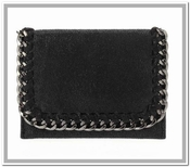 Stella Card Holder - Black