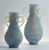 Studio-A by Global Views Adela Vase-Bluette-Lg