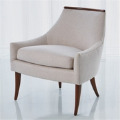 Studio-A by Global Views Boomerang Chair-Muslin
