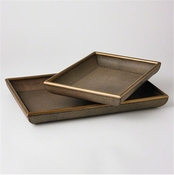 Studio-A by Global Views Churchill Tray-Small