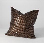 Studio-A by Global Views Copper Beaded Pillow