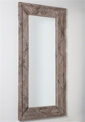 Studio-A by Global Views Deer Valley Floor Mirror - Grey Finish