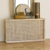 Studio-A by Global Views Driftwood Lattice Console