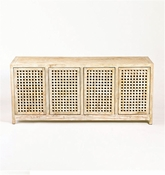 Studio-A by Global Views Driftwood Lattice Credenza