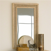 Studio-A by Global Views Driftwood Lattice Mirror