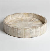Studio-A by Global Views Driftwood Round Topper Tray