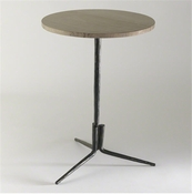 Studio-A by Global Views Elevate Accent Table w/Grey Marble Top