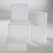 Studio-A by Global Views Frosted Crystal Cube Riser-XL