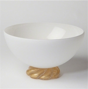 Studio-A by Global Views Golden Glass Rope Bowl