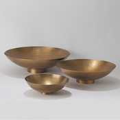 Studio-A by Global Views Indira Bowl-Antique Brass-Lg