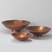 Studio-A by Global Views Indira Bowl-Antique Copper-Lg