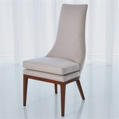 Studio-A by Global Views Isabella Dining Chair-Muslin